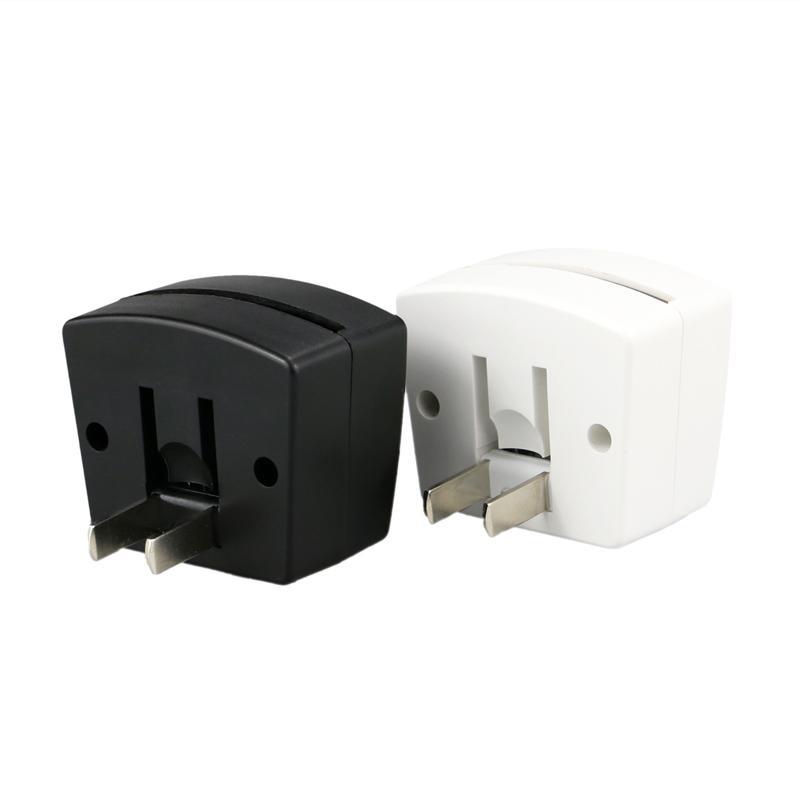 Mini RGB LED Lamp Base Light Sensor Wall Plug TDL-X 3