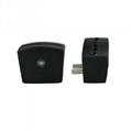 Mini RGB LED Lamp Base Light Sensor Wall Plug TDL-X 4