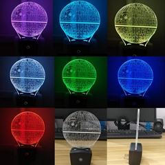 Mini RGB LED Lamp Base Light Sensor Wall Plug TDL-X