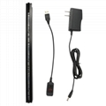 RGB 5050 LED Light Bar Edge Lit Clamp for Acrylic Plate TDL-US 2