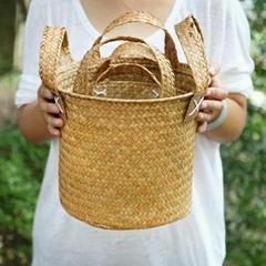 braid basket and vase