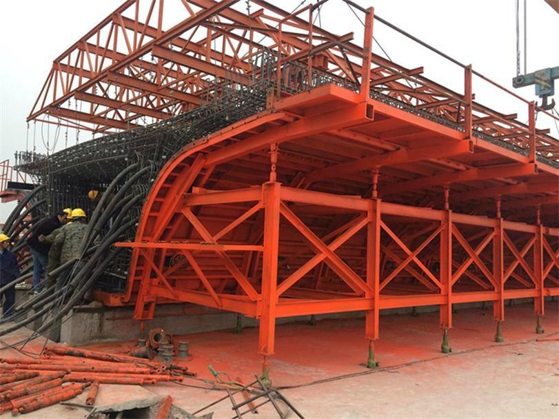 Shuttering For Bridges : Box girder formwork for bridge construction by