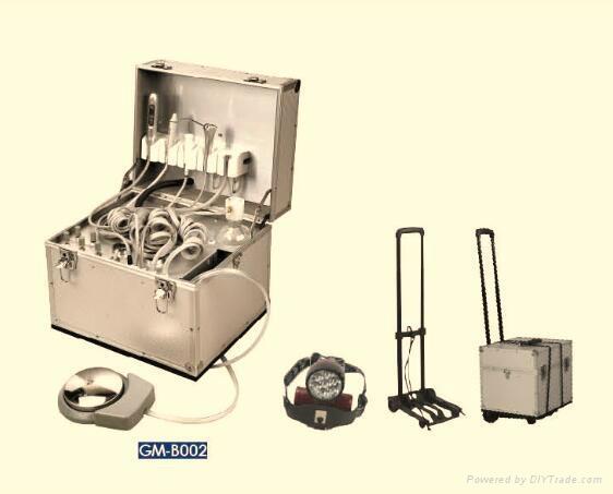 Movable dental chair Portable Dental Unit dental folding portable dental unit  1