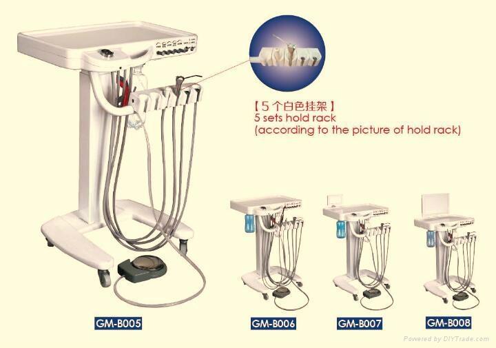 Movable dental chair Portable Dental Unit dental folding portable dental unit  3