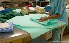 Crepe paper/ Steri-wrap paper