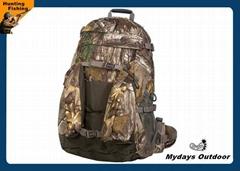 Outdoor Men Camo Hunting Backpack Waterproof Velvet 6.8 X 13.5 X 20.8 Inches