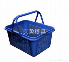 供应各种型号款式购物篮模
