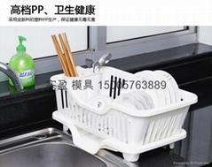 供应多功能塑料碗架模具