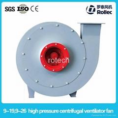 9-19/9-26series high pressure centrifugal ventilator fan