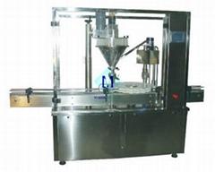 高精度粉末灌装旋盖机 YMGXP型
