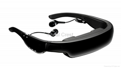 98 Inch 3D Video Glasses Player WIFI Support