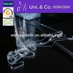 High tenacity mobilon embossed tpu elastic tape for knitwear