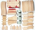 DIY Type Wooden Classic Railway Train Toy Kit 3