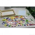 Multi Function Kids Wooden Tabletop