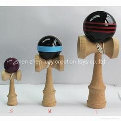 Different Sizes Custom Wooden Mini Jumbo Kendama