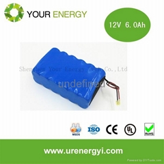 Sell led outdoor lighting batteries 6v li-ion battery good competitive price bat