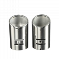 car exhaust muffler pipe mirror polished  2