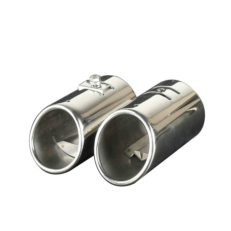 car exhaust muffler pipe mirror polished  3