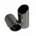 304 stainless steel exhaust muffler tips