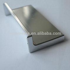 Aluminum Handle Profiles  used for Kitchen Cabinet Door or Office Desk Door