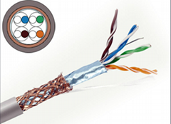UL/CE/RoHS/ISO Approved SFTP Cat5e Cable