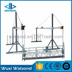 suspended scaffolding system/window cleaning cradle/wall plastering machine