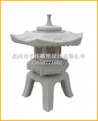 天然石材景觀燈籠