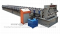 Floor deck roll forming machine for