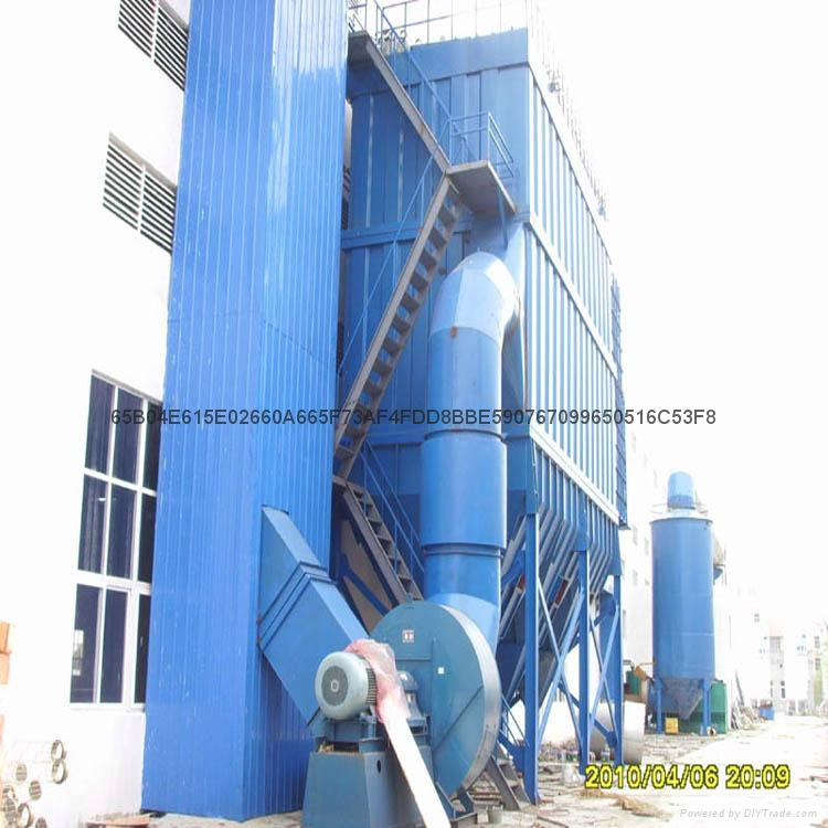 Pulse type silo roof dust removing equipment for producing cement mixing station 4