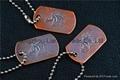 nice customized tinplate badges  nice bookmark  brass dog tags 4