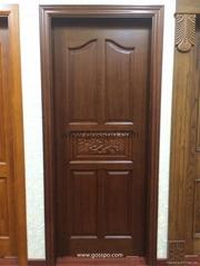 Single Leaf Hinged Timber/Wooden/Wood Room Door (GSP2-013)