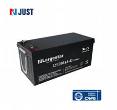 Top quality 12v 200ah UPS deep cycle gel solar battery