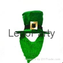 Lego Hot-seller Green-St-Patricks-day-hat-with-beard