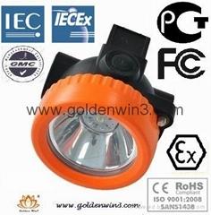 LED cordless cap lamp headlamp safety lamp helmet lamp mining lamp miners lamp
