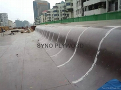Concrete formwork bamboo plywood film faced plywood