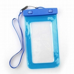 PVC waterproof pouch for mobile phone