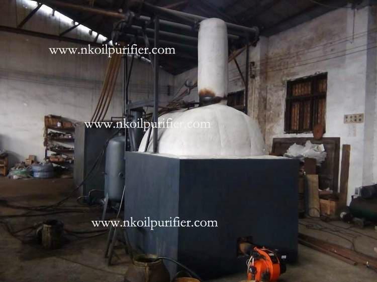 Series JZC Waste Oil Distillation Plant for Black Engine Oil and Diesel Oil 1