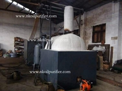 Series JZC Waste Oil Distillation Plant for Black Engine Oil and Diesel Oil