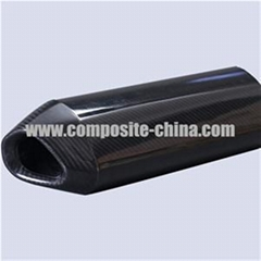 Customized Carbon Fiber Exhaust Pipe