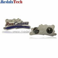 custom equisite model lapel pins with design