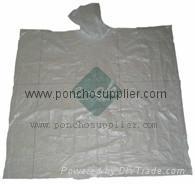 Biodegradable Rain Ponchos Disposable Rain Poncho Emergency Rain Poncho
