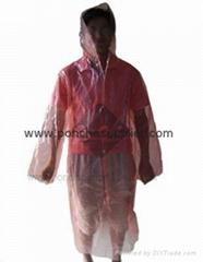 Disposable Raincoats Emergency Rain coats supplier PE Raincoat PE Rain coats