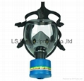 100% Silicone Full Face Anti Gas Mask 1
