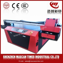 Low cost glass printing machine Maxcan F1500E digital uv printer photo printer