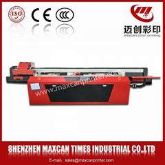 Cheap screen printing machine !Maxcan F2500E uv flatbed printer for glass