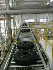 輪胎輸送線