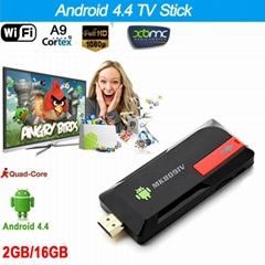 MK809IV TV Dongle Quad Core RK3188T XBMC Bluetooth 4.0 DLNA WiFi Mini PC