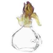 Daum Crystal Iris Perfume Bottle Square 02755 1