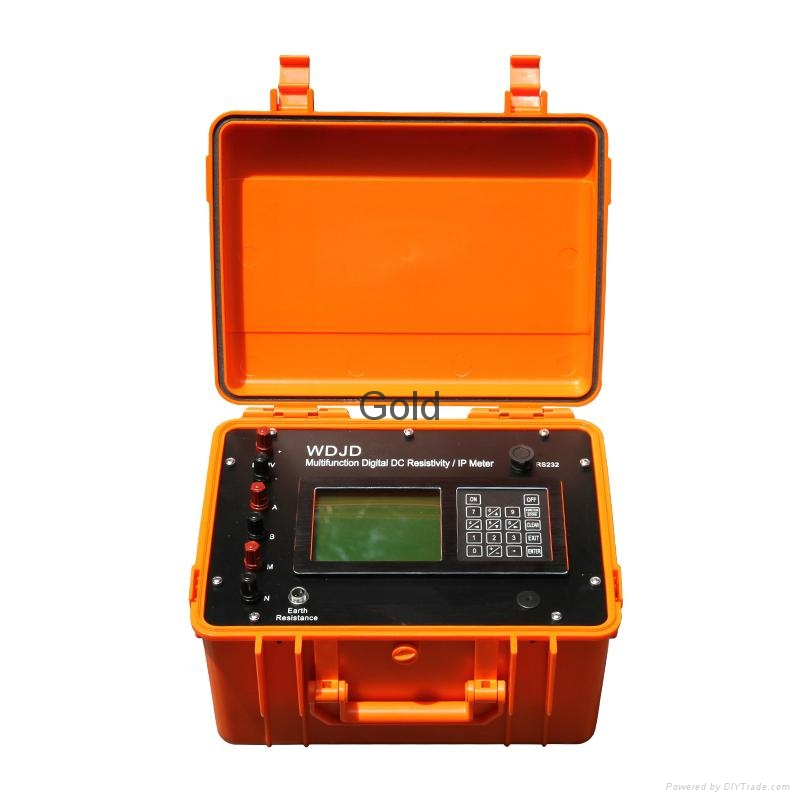 WDJD-4 Multi-function Digital DC Resistivity IP Meter 1