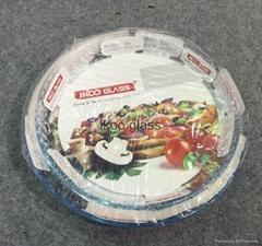 pyrex glass bakeware, safe for oven,microwave,freezer,dishwasher